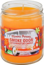Flower Power Smoke Odor Exterminator Candle