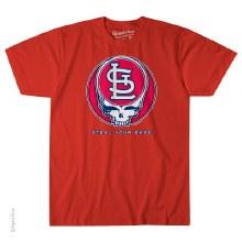 St. Louis Cardinals Grateful Dead Steal Your Base
