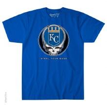 Kansas City Royals Grateful Dead Steal Your Base