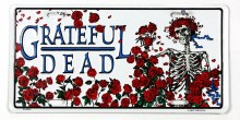 Grateful Dead Bertha License Plate