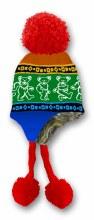 Grateful Dead Dancing Bear Rainbow Ski Hat
