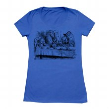 Ladies Mad Hatter Blue