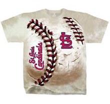 St. Louis Cardinals Hardball Tie Dye