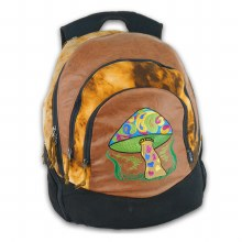Mushroom Tie Dyed Backpack