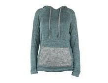Carefree Threads Mint Hooded Sweatshirt