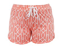 Leisure Time Calming Coral Lounge Shorts by Hello Mello