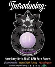Hempbody CBD Bathbomb Citrus by Organabus
