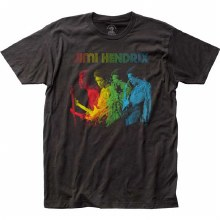 Jimi Hendrix Rainbow Fitted