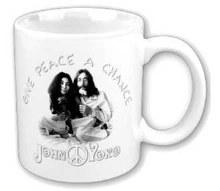 John Lennon and Yoko Ono Give Peace a Chance Mug