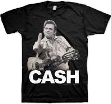 Johnny Cash Flippin The Bird