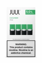 Juul 5% Cucumber Mint 4 Pack Pods