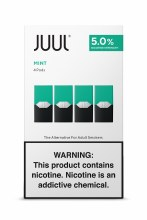 Juul 5% Mint 4 Pack Pods