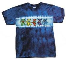 Grateful Dead Kids Bears Row Tie Dye Youth