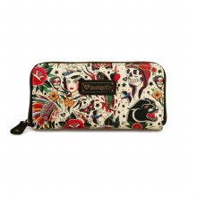 Classic Tattoo Print Wallet by Loungefly
