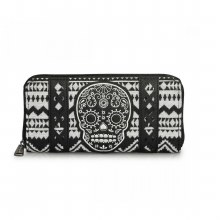 Aztec Skull Print Wallet by Loungefly