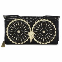 Black and Gold Owl Wallet by Loungefly