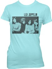 Led Zeppelin Ladies Block Photo