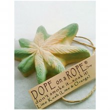 Dope on a Rope Lime Kush Soap