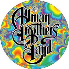 Allman Brothers Band Fractal Logo Sticker