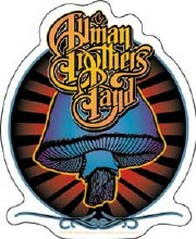 Allman Brothers Band Radiant Shroom Sticker