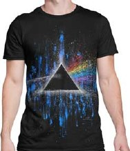 Pink Floyd Darkside of the Moon Splatter Art