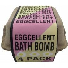 Eggcellent Fizzy Bath Bomb Set