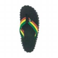 Bob Marley Flip Flops Black Size 8