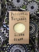 Handmade Patchouli, Lemongrass and Bergamot Soap