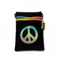 Tie Dyed Peace Passport Bag