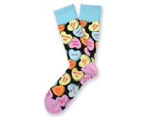 Bittersweet Valentine's Day Socks Small Feet