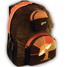 Mushroom Corduroy Backpack