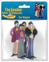 The Beatles Yellow Submarine Die Cut Rubber Magnet