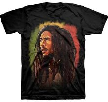 Bob Marley Burnin Painting Black