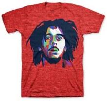 Bob Marley Color Planes Red