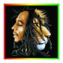Bob Marley Profiles Bandana
