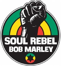 Bob Marley Soul Rebel Patch