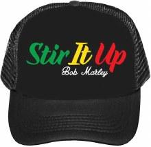 Bob Marley Stir It Up Trucker Hat