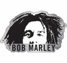 Bob Marley Young Hat Pin