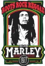 Bob Marley Roots Rock Reggae Hat Pin