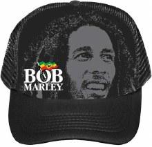 Bob Marley Logo Trucker Hat