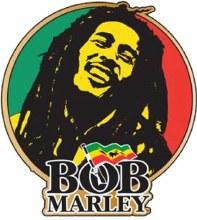 Bob Marley Smile Hat Pin