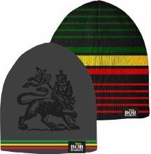 Bob Marley Irie Stripe Reversible Knit Beanie