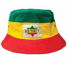 Bob Marley Rasta Bucket Hat