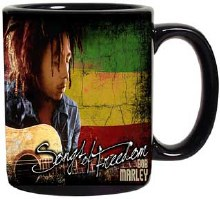 Bob Marley Guitar Mug