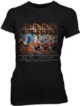 Bob Marley Ladies Lyric Live Black