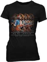 Bob Marley Ladies Lyric Live Black