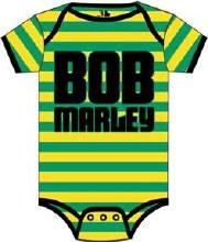 Bob Marley Kids Striped Onesie