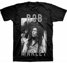 Bob Marley BandW Stare Black