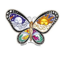 Butterfly Nymph Sticker