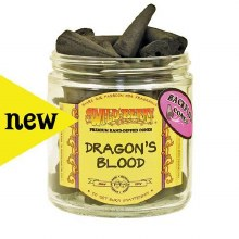 Dragons Blood Wildberry Backflow Incense Cones